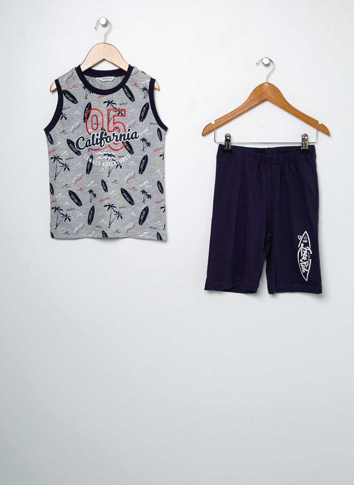 Erkek Çocuk Roly Poly Pijama Takım